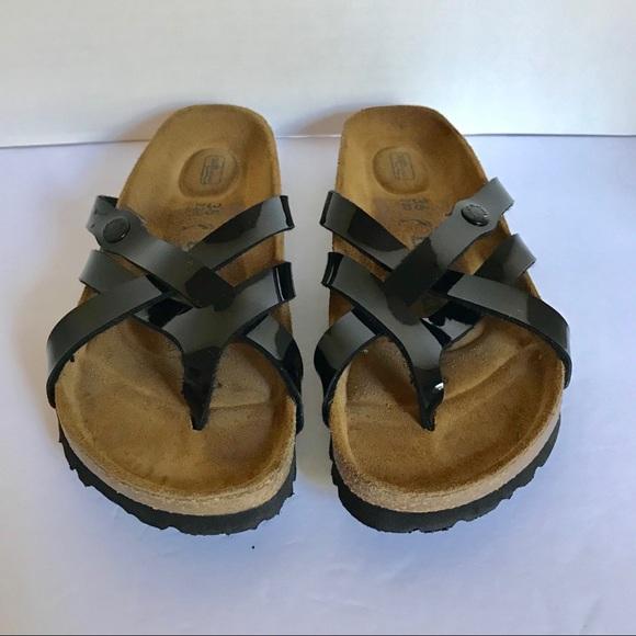 aa70bfb4995 Birkenstock Shoes - Birkenstock Betula Vinja Black sandal size 36